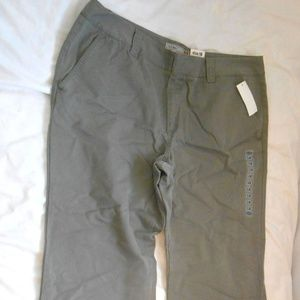 Old Navy cargo Pants Army Green size 18 reg NWT
